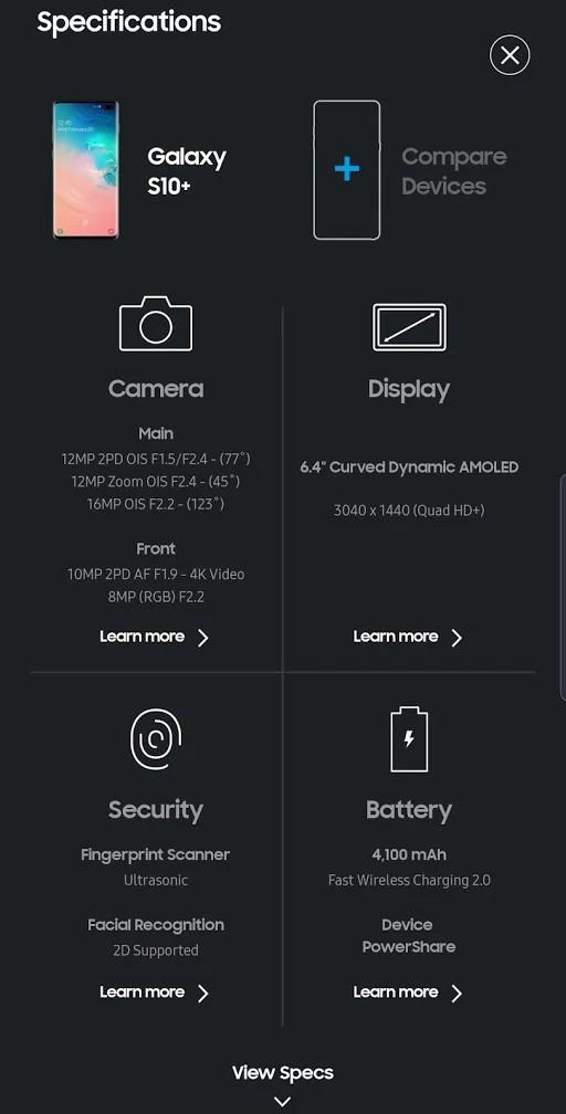 سامسونگ دسترسی مجازی به قابلیتهای گلکسی S10 را امکان پذیر کرد +تصاویر