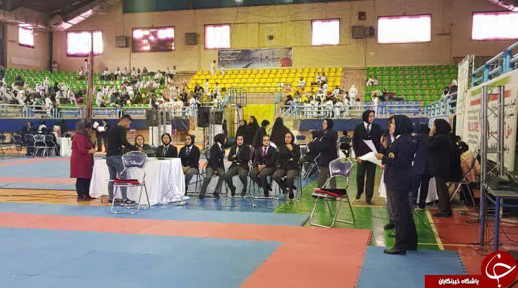 رقابت های بین المللی کاراته در بخش دختران آغاز شد + تصاویر
