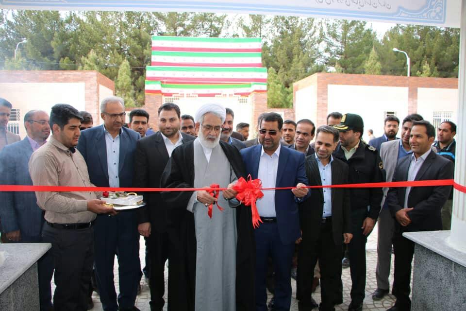 دو پروژه عمرانی درحوزه قضایی استان کرمان افتتاح شد