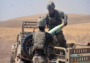 ائتلاف آمریکایی بار دیگر دیرالزور سوریه را با فسفر سفید بمباران کرد