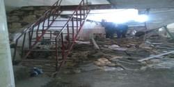ریزش سقف مسجد در نوبران با 10 مصدوم
