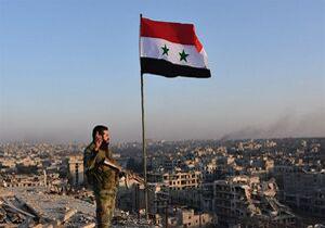 برافراشته شدن پرچم سوريه در الرقه