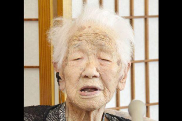 زن ۱۱۶ ساله ژاپنی عنوان سالخوردهترین فرد جهان را از آن خود کرد + تصاویر