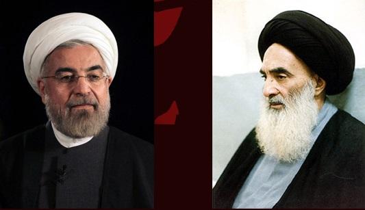 روحانی اولین رییسجمهور ایران که با آیتالله سیستانی دیدار خواهد کرد