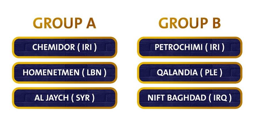 برنامه نمایندگان بسکتبال ایران در رقابتهای قهرمانی غرب آسیا