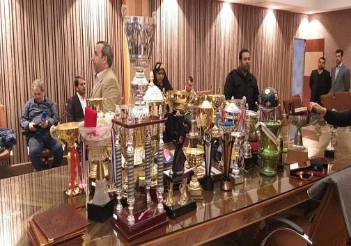 یادبودهای قهرمانان به موزه المپیک و پارالمپیک اهدا شد