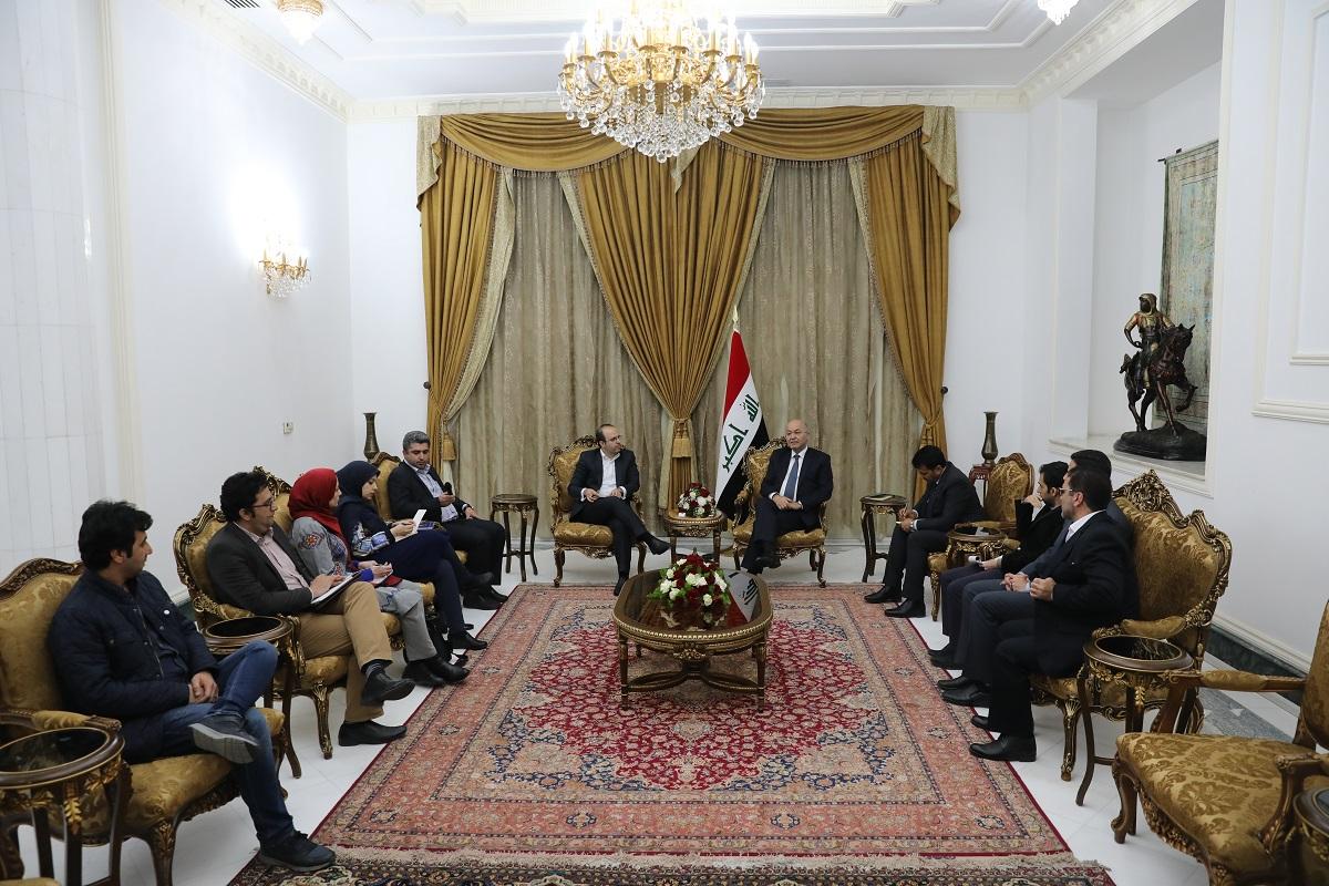 امیدواریم به زودی روادید سفر ایرانیان به عراق لغو شود/ ارتباط رژیم صهیونیستی با عراق به هیچ وجه صحت ندارد