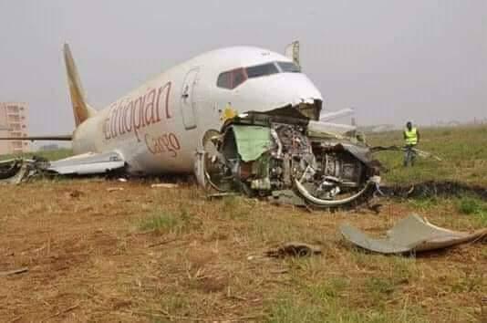 هواپیمای مسافربری اتیوپی با ۱۵۷ مسافر و خدمه سقوط کرد