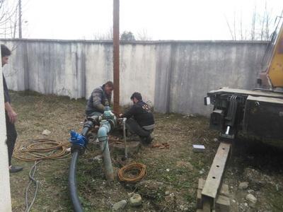رفع ضعف فشار آب شرب روستایی تالش