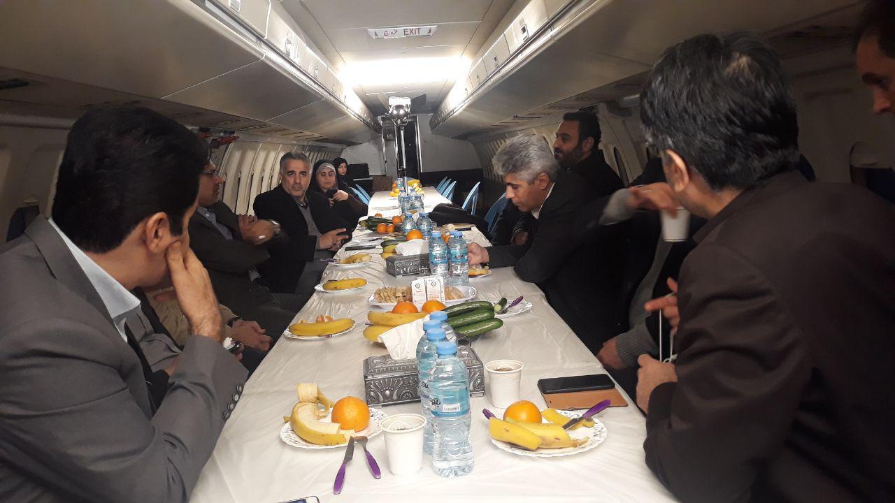 بازدید مدیر شبکه یک سیما از پشت صحنه سریال نوروزی سعید آقاخانی