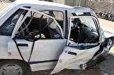باشگاه خبرنگاران -جان باختن ۲ نفر براثر برخورد یک دستگاه کامیونت ایسوز با پراید