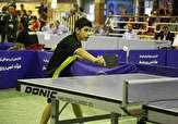 باشگاه خبرنگاران -سامران کریمی جایگاه دوم رنکینگ تنیس روی میز هوپس کشور را به خود اختصاص داد