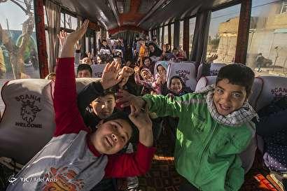 باشگاه خبرنگاران -جشن عیدانه کودکان کورههای آجرپزی