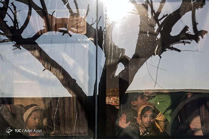 جشن عیدانه کودکان کورههای آجرپزی