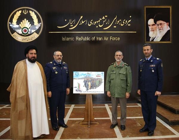 بازدید سردار شیرازی از جهاد خودکفایی نیروی هوایی ارتش