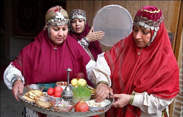 زیباییهای سال نو در میان اقوام مختلف کشور خراسان جنوبی