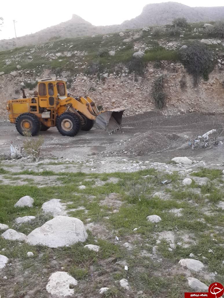 توقیف خودروهای حفاری غیرمجاز در فارس