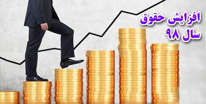 کمترین حقوقها در سال ۹۸ چقدر افزایش مییابد؟