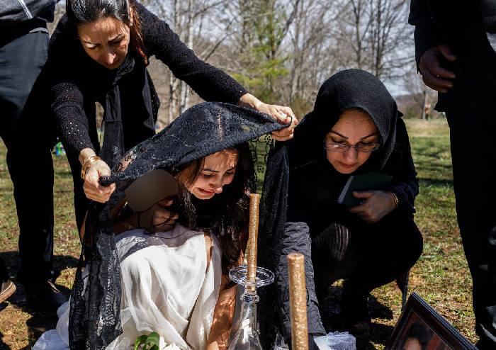 عروسی زوج ایرانی در آمریکا به عزا تبدیل شد + تصاویر