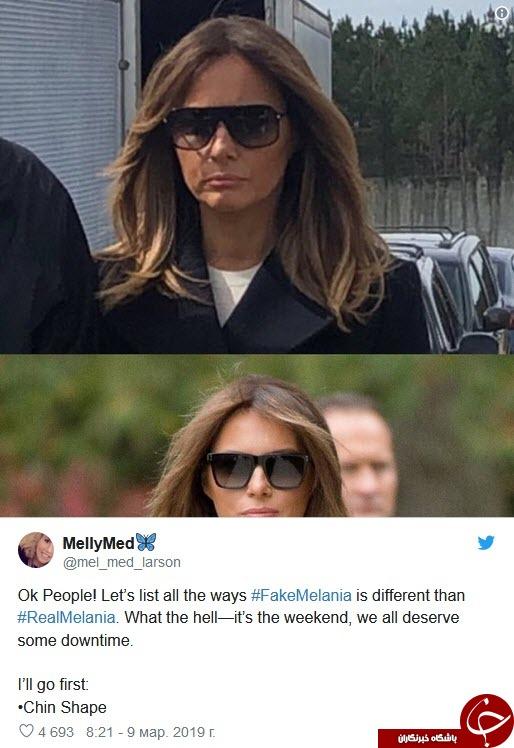 ترامپ اینبار متهم به دو زن بودن ،شد+تصاویر