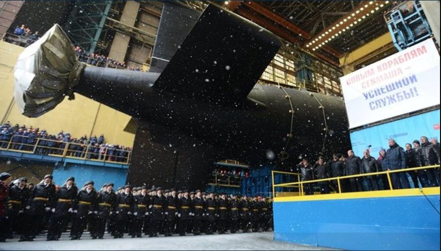 تجهیز ناوگان دریایی روسیه با دو زیر دریایی هستهای پیشرفته + فیلم و تصاویر