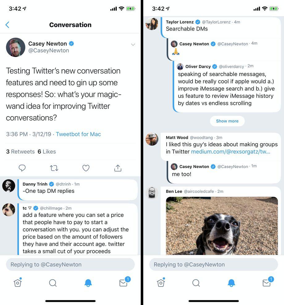 ویژگیهای جدیدی توئیتر در نسخه بتای آن، twttr آزمایش میشوند +تصاویر