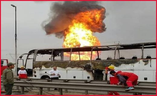۱۰ کشته و مصدوم در حادثه انفجار لوله گاز در آزاد راه اهواز /کشف فسیل ماموت بیله سوار برای اولین بار در ایران /جان شیرین ماهی قرمزها