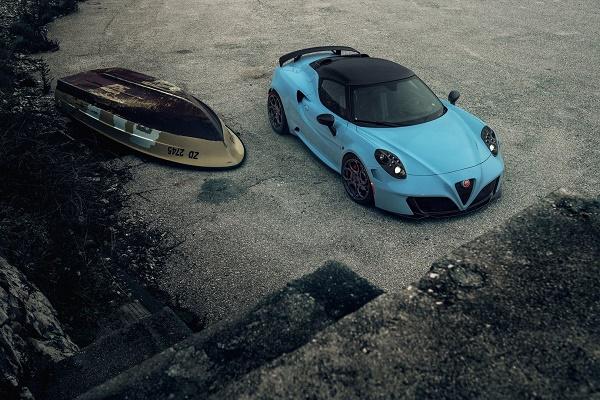 آلفا رومئو 4C با تیونر شرکت Pogea Racing جذابتر از گذشته خواهد شد +تصاویر