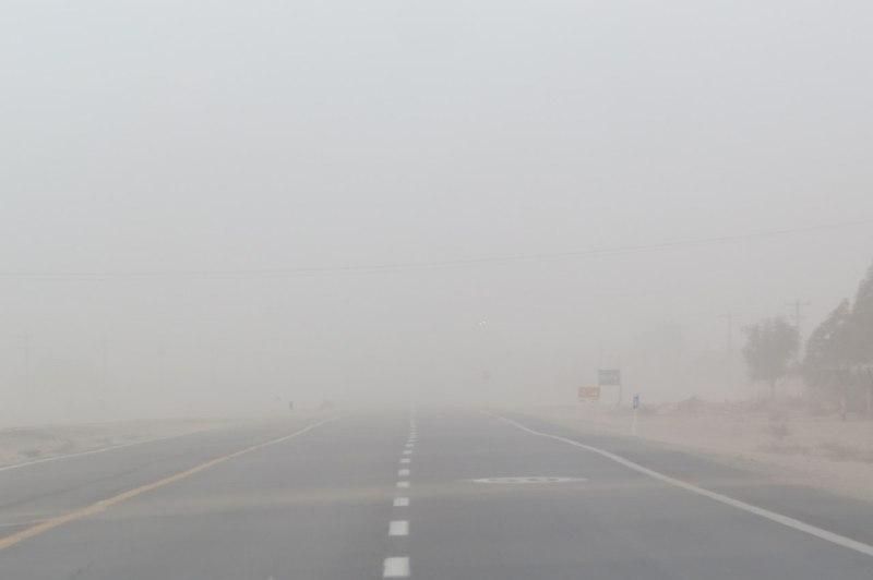 هواشناسی نسبت به وزش باد شدید در سیستان و بلوچستان هشدار داد