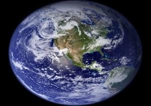 یکی از شگفتانگیزترین نماهایی که از زمین در فضا گرفته شده است +فیلم