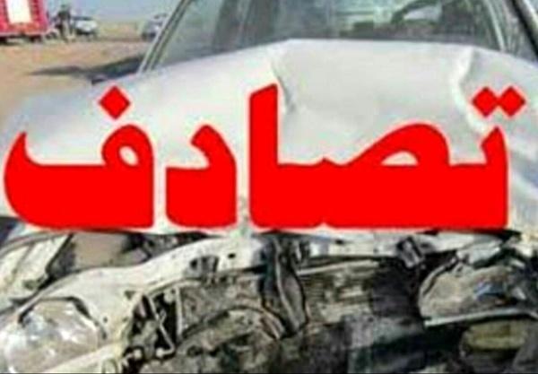 واژگونی اتوبوس در محور مشهد به ملایر/ حادثه 17 مصدوم داشت
