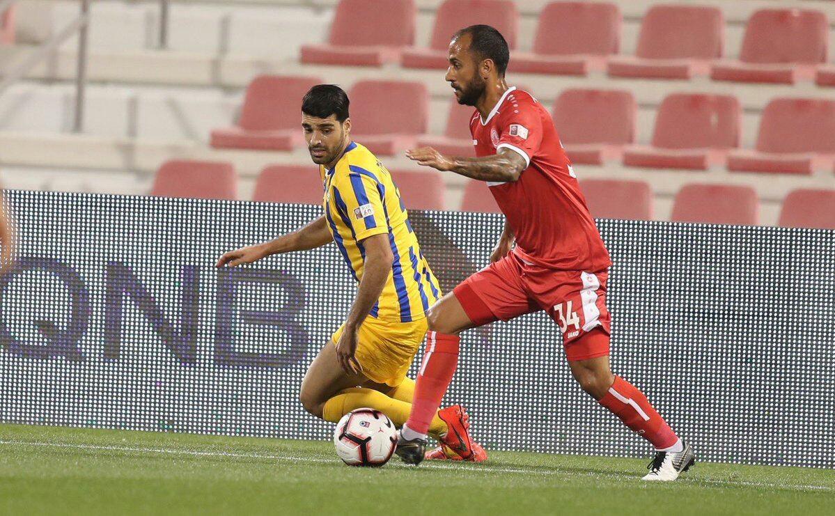 برتری الغرافه مقابل العربی در لیگ ستارگان قطر