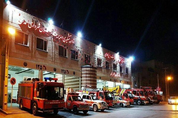 انجام ۱۰ عملیات امداد و نجات توسط آتش نشانان همدانی