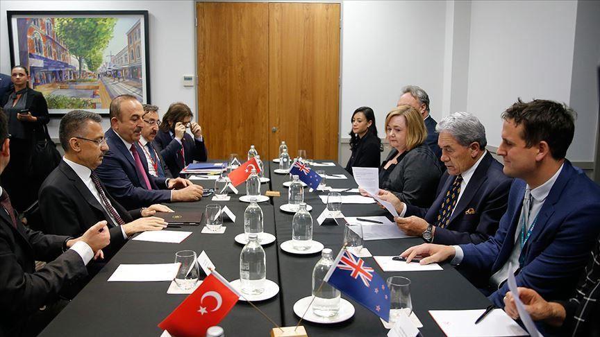 گفتگوی هیئت اعزامی ترکیه با مقامات نیوزیلند درباره حمله تروریستی کرایستچرچ