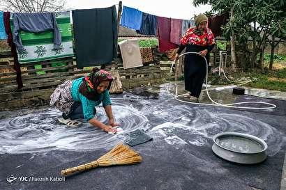 باشگاه خبرنگاران -خانه تکانی در روستا