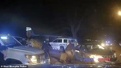 حادثهای دردناک در حین تعقیب و گریز پلیس +فیلم