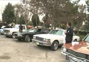 رالی خودروهای کلاسیک از کاخ مروارید تا کاخ نیاوران + فیلم