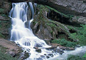 سرزمین آبشارها در انتظار مسافران نوروزی + فیلم