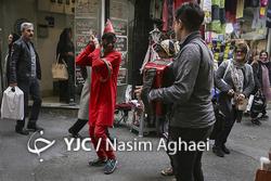 بازار خرید نوروز در تهران