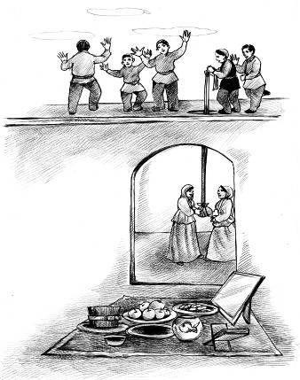 آداب و رسوم کهن چهارشنبه سوری /از قاشقزنی تا فالگوش ایستادن