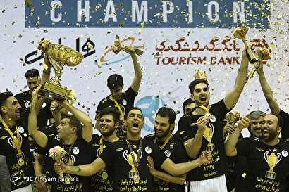 باشگاه خبرنگاران -قهرمانی شهرداری ورامین در لیگ برتر والیبال