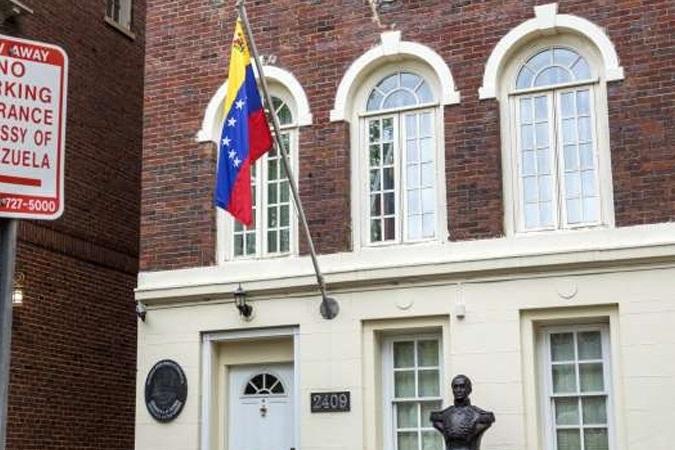 تسلط مخالفان بر دفاتر دیپلماتیک ونزوئلا در آمریکا