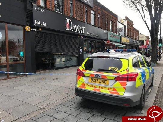 حادثه ای که مشتریان رستوران را فراری داد! + تصاویر/////