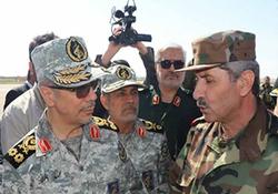 در کمین خطر؛ سرلشکر باقری در چند قدمی داعش + فیلم