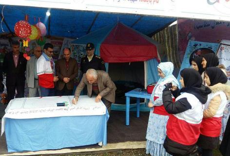 افتتاح پایگاه ایمنی و سلامت در تالش
