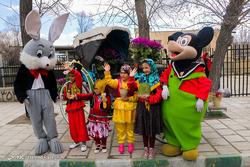 کاروان شادی استقبال از بهار در ابهر