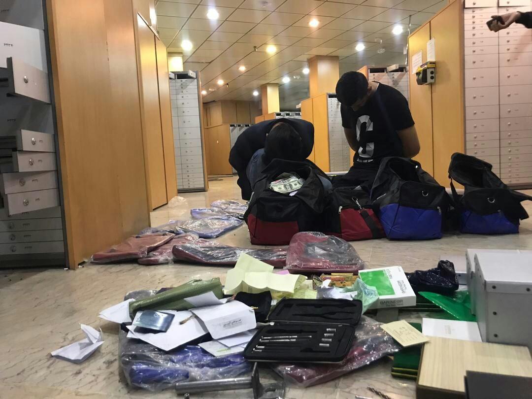 سارقان صندوق امانات بانک دستگیر شدند