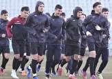 باشگاه خبرنگاران -نخستین تمرین تیم فوتبال امید ترکمنستان در تهران