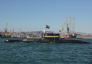 نمایش قدرت آفندی و عملیاتی زیردریایی فاتح و ناوشکن سهند در رزمایش ولایت ۹۷