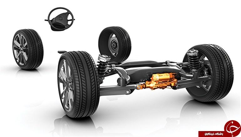 معرفی اجزای مختلف جلوبندی یک خودرو